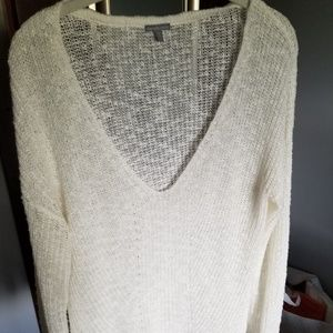 Charlotte Russe off white thin sweater